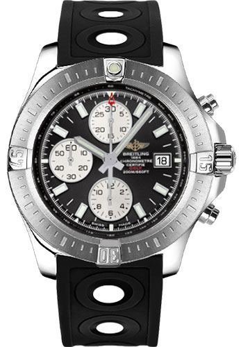 Breitling Watches - Colt Chronograph Automatic Ocean Racer II Strap - Deployant - Style No: A1338811/BD83-ocean-racer-ii-black-deployant