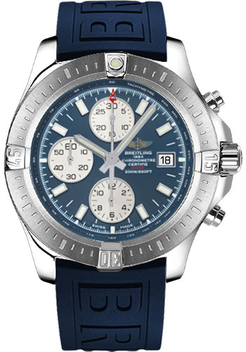 Breitling Watches - Colt Chronograph Automatic Diver Pro III Strap - Tang - Style No: A1338811/C914-diver-pro-iii-blue-tang