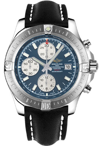 Breitling Watches - Colt Chronograph Automatic Leather Strap - Tang - Style No: A1338811/C914/435X/A20BA.1