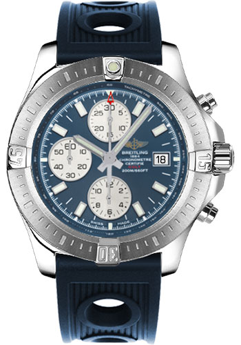 Breitling Watches - Colt Chronograph Automatic Ocean Racer Strap - Deployant - Style No: A1338811/C914-ocean-racer-blue-deployant