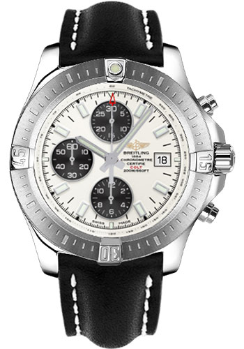 Breitling Watches - Colt Chronograph Automatic Leather Strap - Deployant - Style No: A1338811/G804/436X/A20D.1