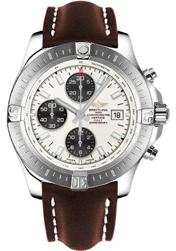 Breitling Watches - Colt Chronograph Automatic Leather Strap - Deployant - Style No: A1338811/G804/438X/A20D.1