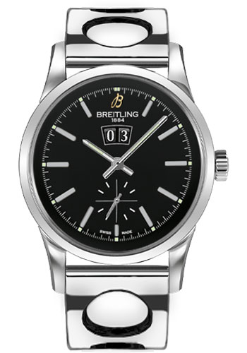 Breitling Watches - Transocean 38 Air Racer Bracelet - Style No: A1631012/BD15-air-racer-steel