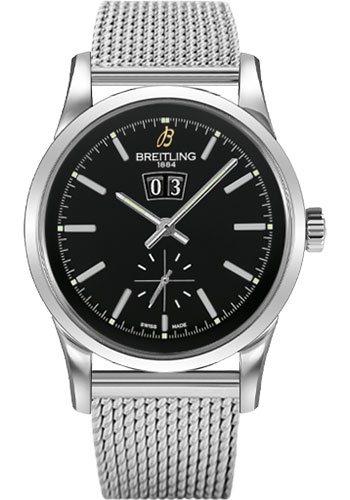 Breitling Watches - Transocean 38 Ocean Classic Bracelet - Style No: A1631012/BD15-ocean-classic-steel