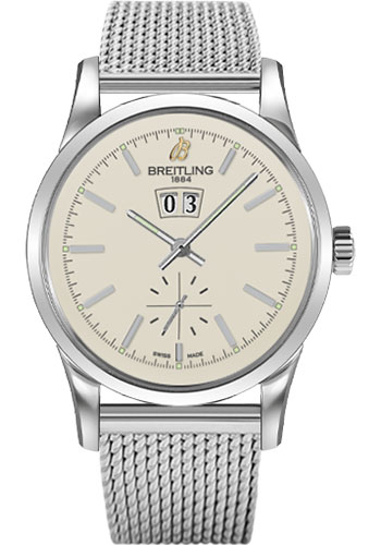 Breitling Watches - Transocean 38 Ocean Classic Bracelet - Style No: A1631012/G781-ocean-classic-steel