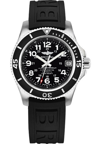 Breitling Watches - Superocean II 36mm - Diver Pro III Strap - Style No: A17312C9/BD91-diver-pro-iii-black-tang