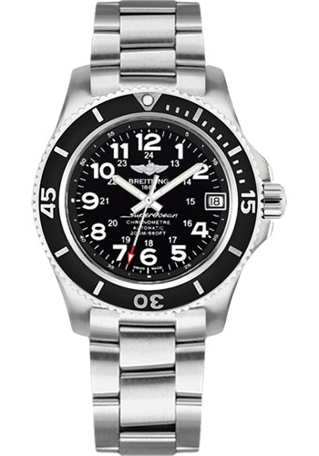 Breitling Watches - Superocean II 36mm - Professional III Bracelet - Style No: A17312C9/BD91-professional-iii-steel