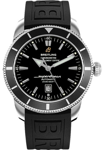Breitling Watches - Superocean Heritage 46 Diver Pro III Strap - Deployant - Style No: A1732024/B868-diver-pro-iii-black-folding