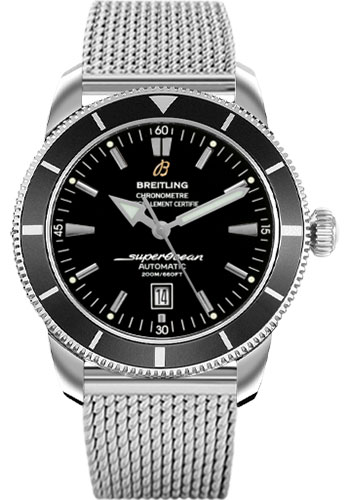 Breitling Watches - Superocean Heritage 46 Stainless Steel Bracelet - Style No: A1732024/B868-ocean-classic-steel
