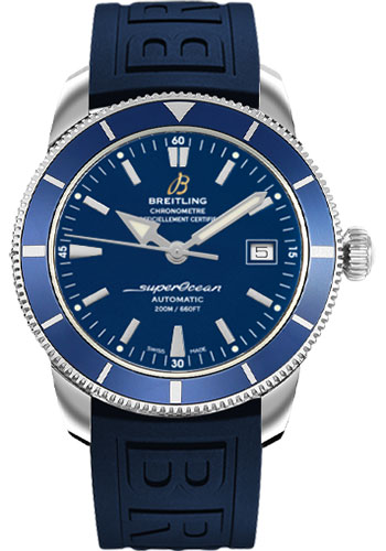 Breitling Watches - Superocean Heritage 42 Diver Pro III Strap - Deployant - Style No: A1732116/C832-diver-pro-iii-blue-folding