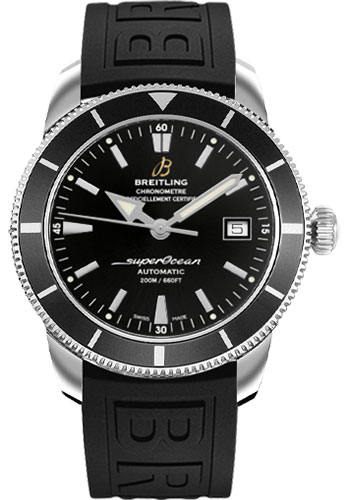 Breitling Watches - Superocean Heritage 42 Diver Pro III Strap - Deployant - Style No: A1732124/BA61-diver-pro-iii-black-folding