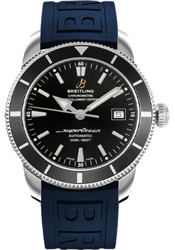 Breitling Watches - Superocean Heritage 42 Diver Pro III Strap - Deployant - Style No: A1732124/BA61-diver-pro-iii-blue-folding