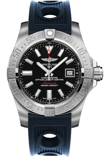 Breitling Watches - Avenger II Seawolf Ocean Racer Strap - Style No: A1733110/BC30-ocean-racer-blue-deployant