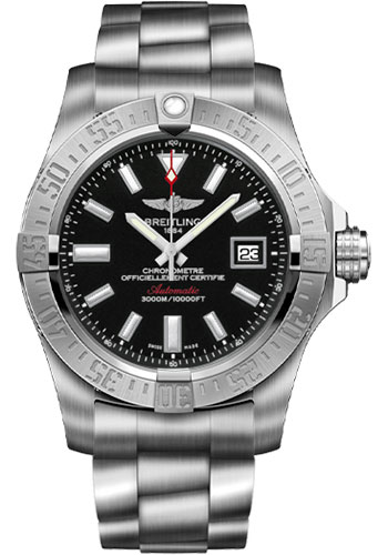 Breitling Watches - Avenger II Seawolf Stainless Steel Bracelet - Style No: A1733110/BC30-professional-iii-steel