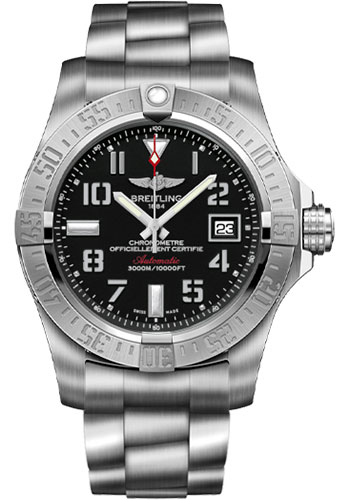 Breitling Watches - Avenger II Seawolf Stainless Steel Bracelet - Style No: A1733110/BC31-professional-iii-steel