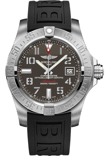 Breitling Watches - Avenger II Seawolf Diver Pro III Strap - Deployant Buckle - Style No: A1733110/F563/153S/A20DSA.2