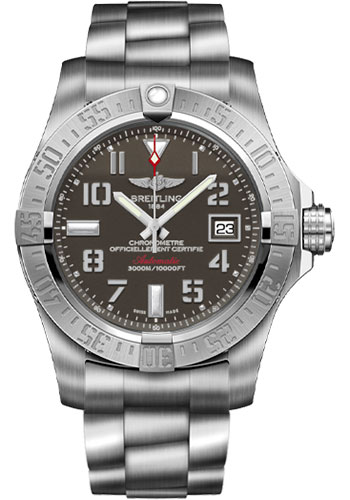 Breitling Watches - Avenger II Seawolf Stainless Steel Bracelet - Style No: A1733110/F563-professional-iii-steel