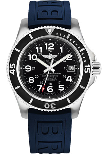 Breitling Watches - Superocean Automatic 42mm - Diver Pro III Strap - Tang - Style No: A17365C9/BD67/148S/A18S.1