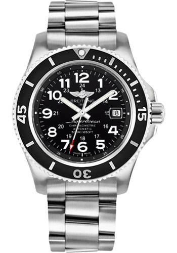 Breitling Watches - Superocean II 42mm - Professional III Bracelet - Style No: A17365C9/BD67-professional-iii-steel