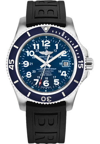 Breitling Watches - Superocean Automatic 42mm - Diver Pro III Strap - Tang - Style No: A17365D1/C915/150S/A18S.1