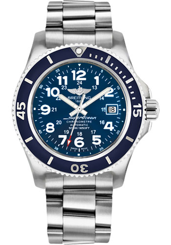Breitling Watches - Superocean II 42mm - Professional III Bracelet - Style No: A17365D1/C915-professional-iii-steel