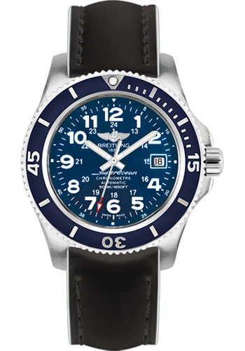 Breitling Watches - Superocean II 42mm - Superocean Strap - Style No: A17365D1/C915-superocean-black-white-tang