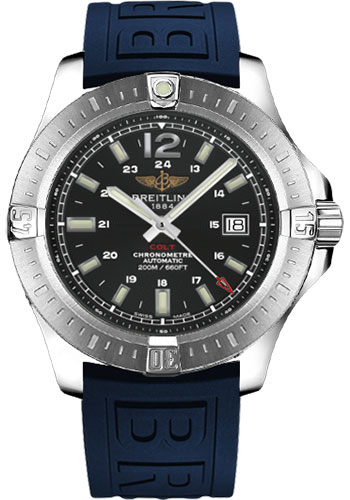 Breitling Watches - Colt Automatic Diver Pro III Strap - Deployant - Style No: A1738811/BD44-diver-pro-iii-blue-deployant