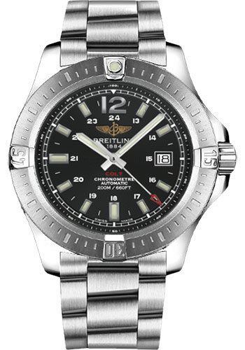 Breitling Watches - Colt Automatic 44mm - Professional III Bracelet - Style No: A1738811/BD44/173A