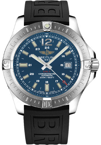 Breitling Watches - Colt Automatic Diver Pro III Strap - Deployant - Style No: A1738811/C906-diver-pro-iii-black-deployant
