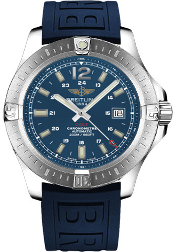 Breitling Watches - Colt Automatic Diver Pro III Strap - Deployant - Style No: A1738811/C906-diver-pro-iii-blue-deployant