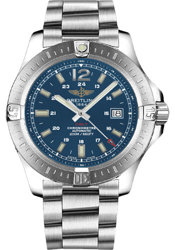Breitling Watches - Colt Automatic 44mm - Professional III Bracelet - Style No: A1738811/C906/173A