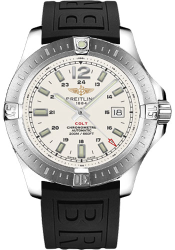 Breitling Watches - Colt Automatic Diver Pro III Strap - Deployant - Style No: A1738811/G791-diver-pro-iii-black-deployant