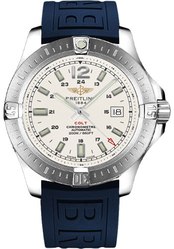 Breitling Watches - Colt Automatic Diver Pro III Strap - Deployant - Style No: A1738811/G791-diver-pro-iii-blue-deployant