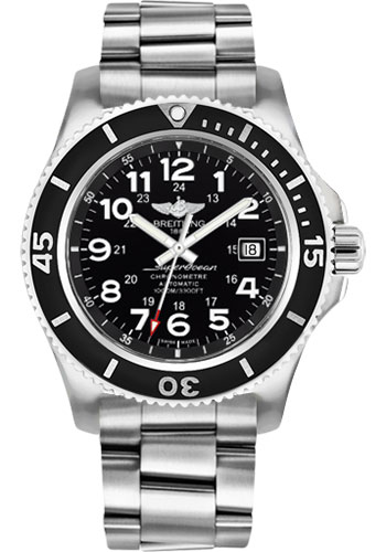 Breitling Watches - Superocean II 44mm - Professional III Bracelet - Style No: A17392D7/BD68/162A