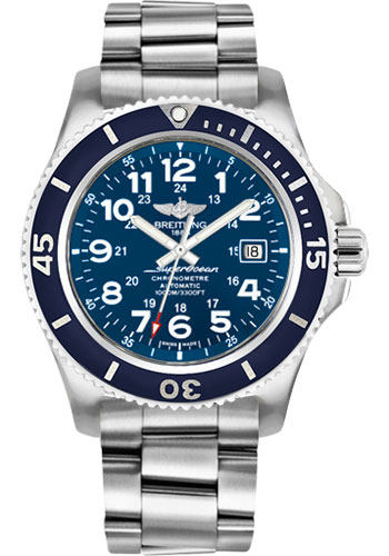 Breitling Watches - Superocean II 44mm - Professional III Bracelet - Style No: A17392D8/C910-professional-iii-steel