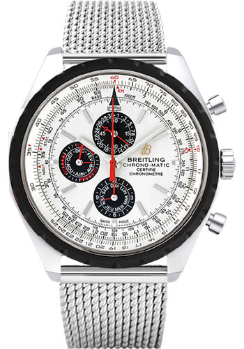 Breitling Watches - Chrono-Matic 1461 - Style No: A1936002/G683-aero-classic-steel