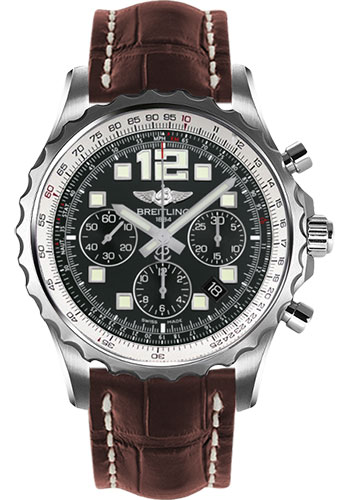 Breitling Watches - Chronospace Automatic Croco Strap - Deployant Buckle - Style No: A2336035/BA68-croco-brown-deployant