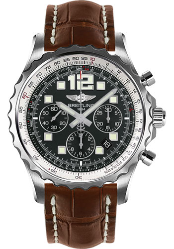 Breitling Watches - Chronospace Automatic Croco Strap - Deployant Buckle - Style No: A2336035/BA68-croco-gold-deployant