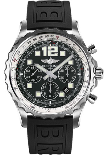 Breitling Watches - Chronospace Automatic Diver Pro III Strap - Deployant Buckle - Style No: A2336035/BA68-diver-pro-iii-black-deployant