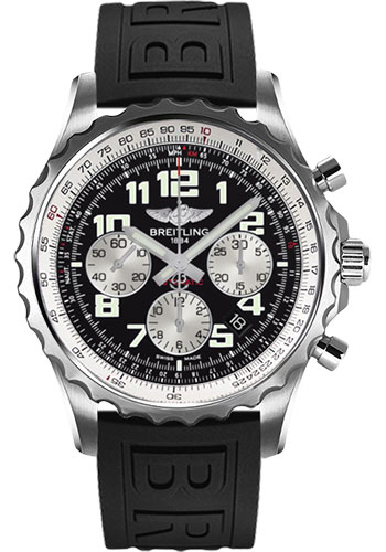Breitling Watches - Chronospace Automatic Diver Pro III Strap - Deployant Buckle - Style No: A2336035/BB97-diver-pro-iii-black-deployant