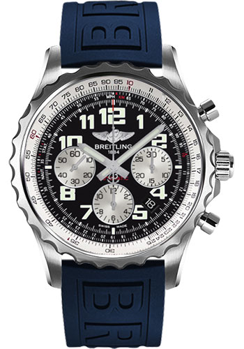 Breitling Watches - Chronospace Automatic Diver Pro III Strap - Deployant Buckle - Style No: A2336035/BB97-diver-pro-iii-blue-deployant