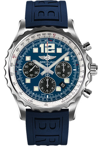 Breitling Watches - Chronospace Automatic Diver Pro III Strap - Deployant Buckle - Style No: A2336035/C833-diver-pro-iii-blue-deployant