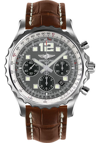 Breitling Watches - Chronospace Automatic Croco Strap - Deployant Buckle - Style No: A2336035/F555-croco-gold-deployant