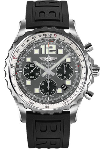 Breitling Watches - Chronospace Automatic Diver Pro III Strap - Deployant Buckle - Style No: A2336035/F555-diver-pro-iii-black-deployant
