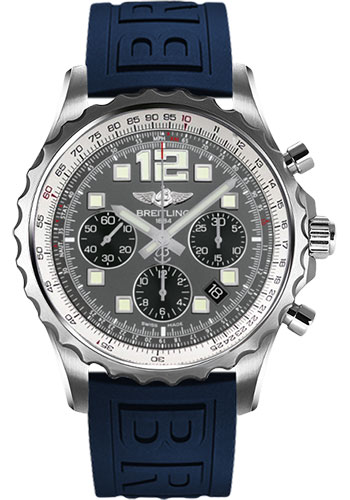 Breitling Watches - Chronospace Automatic Diver Pro III Strap - Deployant Buckle - Style No: A2336035/F555-diver-pro-iii-blue-deployant