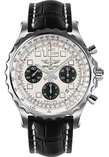 Breitling Watches - Chronospace Automatic Croco Strap - Deployant Buckle - Style No: A2336035/G718-croco-black-deployant