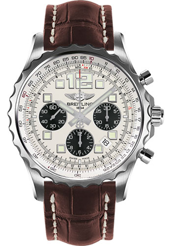 Breitling Watches - Chronospace Automatic Croco Strap - Deployant Buckle - Style No: A2336035/G718-croco-brown-deployant