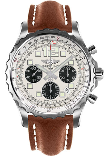 Breitling Watches - Chronospace Automatic Leather Strap - Deployant Buckle - Style No: A2336035/G718-leather-gold-deployant