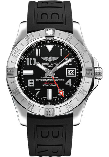 Breitling Watches - Avenger II GMT Diver Pro III Strap - Deployant Buckle - Style No: A3239011/BC34-diver-pro-iii-black-deployant