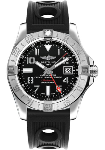 Breitling Watches - Avenger II GMT Ocean Racer Strap - Style No: A3239011/BC34-ocean-racer-black-deployant
